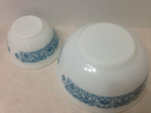 Horizon Blue Pyrex Nesting Bowls, Vintage Pyrex Horizon Blue Mix Kingston Kingston Area image 4