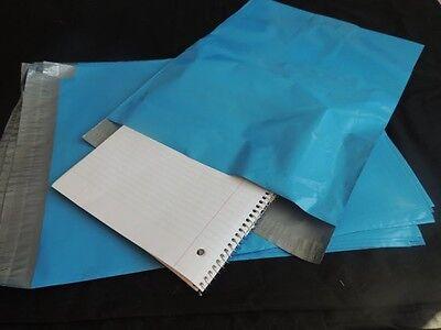 20 Blue 12x15 Flat Poly Postal Mailer Envelopes Self Sealing Usps Shipping Bag