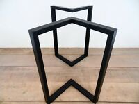 Heavy duty steel table legs and frame for sale !