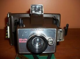 Vintage original POLAROID MINUTE MAKER 1977- NOT TESTED- Free delivery in Bath area