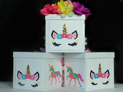 Unicorn Sparkle Centerpieces For A Birthday Party ,Table Top, Or Room Decor](Centerpieces For Birthday Tables)