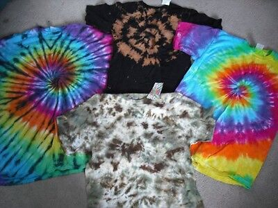 Tie dye suprise t shirt adult sizes S through 3X