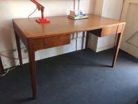 1950s Air Ministry Oak Writing Desk. Vintage/Industrial/Retro