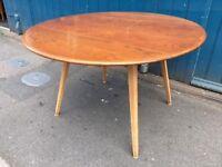 1960's original Ercol drop leaf Dining Table. Vintage/Retro/Mid Century
