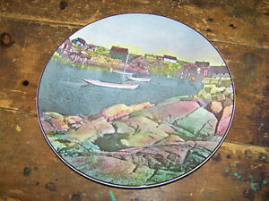 Scenic Royal Doulton Plate Made In England Maritime Provinces