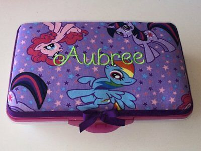 Personalized Kids School Pencil Box Case My Little Pony Rainbow Dash Pinky - Personalized Pencil Case