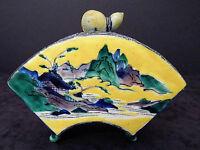 JAPANESE ANTIQUE - rare porcelain incense koro - mid/late 19th Century