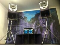 SOUND/PA/SPEAKERS HIRE!! (Sound system hire, Audio hire, PA hire, Lighting.