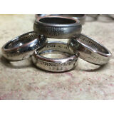 US State Quarter Coin Ring ANY STATE Sizes 4-14 HIGHEST QUALITY! Free Shipping!