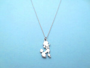 Tiny, Cute, Poodle, Puppy, Dog, Gold/ Silver, Necklace