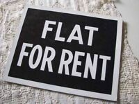 1 BED FLAT WANTED