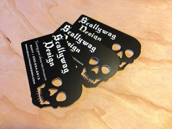 50 Very Unique Custom Plastic Business Cards Laser Engraved & Cut in ANY Shape