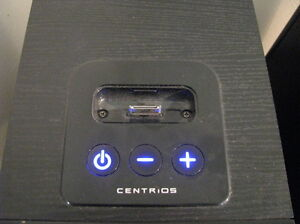 CENTRIOS Bookshelf Speakers With iPod Dock Windsor Region Ontario image 7