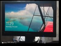 Viewsonic 27 inch Monitor (Used - Like New) + Dell Speakers