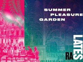Royal Academy Summer Pleasure Garden tickets 2 x Saturday 21st July