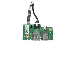 Asus X401U DC-IN Power Jack USB Port Board w/ Cable(RF)