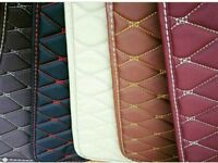 Stiched leather flooring and wrapping available ***