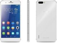 """***HUAWEI HONOR 6 PLUS, WHITE, 32GB & UNLOCKED! 5.6"""" SCREEN LARGE, GOOD CONDITION***"""