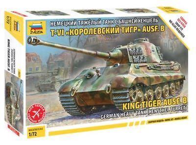 Zvezda 1/72 King Tiger Ausf. B German Heavy Tank (Henschel Turret) # 5023