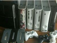5x xbox 360's and a ps3 playstation 3 joblot