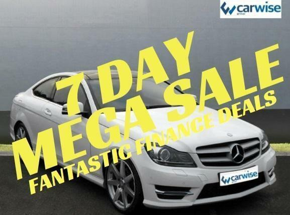 2014 Mercedes-Benz C Class C220 CDI AMG SPORT EDITION PREMIUM PLUS Diesel white
