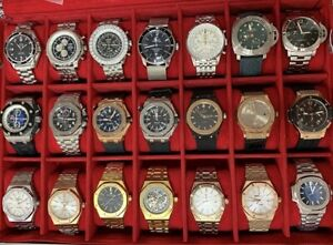 ~~! WATCHES FOR SALE ~~*HUGE~R0LEX WATCH COLLECTION --