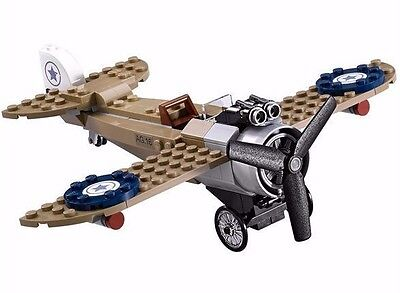 Lego 76075 Wonder Woman Warrior Battle WWI Fighter Plane Only No Minifigs or box
