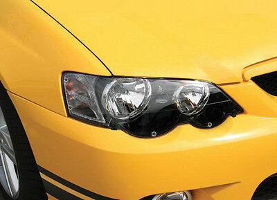 Holden Ve Commodore - Headlight Protectors - Diy - Custom Fit - Sold As Pair