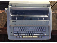Brother electric typewriter- as new