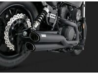 Full Vance and Hines slash exhaust system