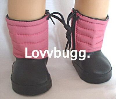 "Lovvbugg Snow Boots Doll Shoes for 18"" American Girl n Bitty Baby Dolls"