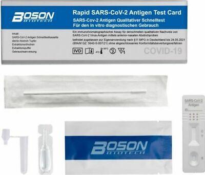 Corona Schnelltest Corona Selbsttest für Laien+1x CRDLIGHT FFP2 Maske CE 2163