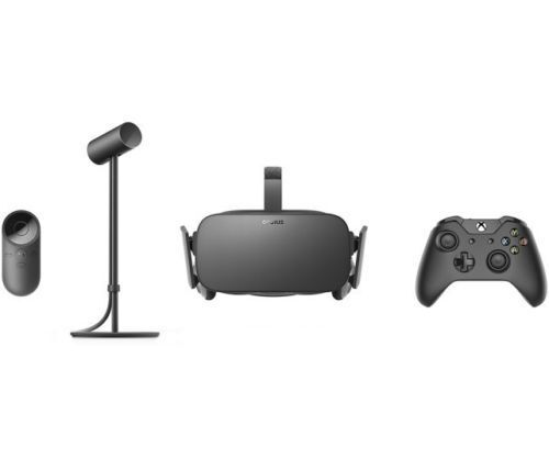 NEW Oculus - Rift Virtual Reality Headset VR  BUNDLE Controller Sensor remote