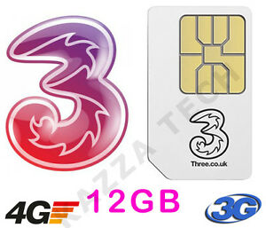 THREE-PAYG-SIM-CARD-WITH-12GB-FREE-DATA-PRE-LOADED-For-MIFI-Dongle-Tablet-3G-4G