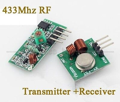 433mhz Rf Wireless Transmitter And Receiver Link Kit Module For Arduino Uno R3