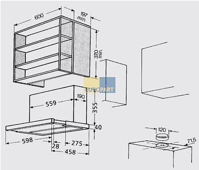 Dunstabzugs Flachschirmhaube Abluft/Umluft 60 cm silbergrau BAUKNECHTDNHV5460SG online kaufen