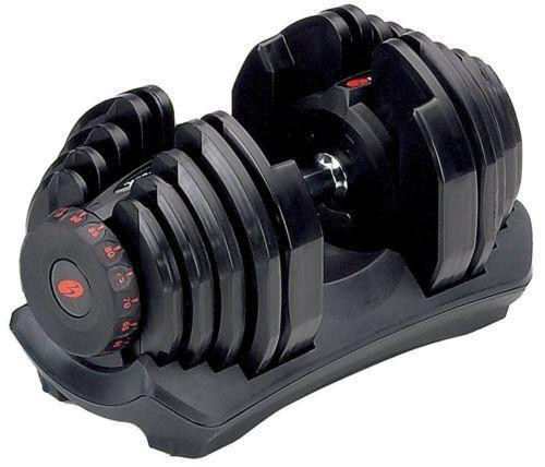 Powerblock Used: Bowflex Adjustable Dumbbells