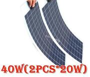 100W Semi Flexible Solar Panel