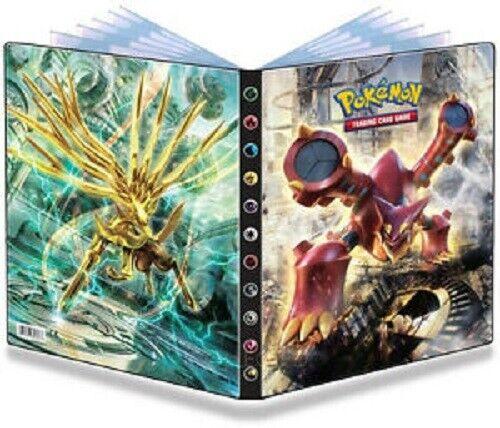 Pokemon Stream Siege Volcanion Xerneas 9 Pocket Page Portfolio Album Binder