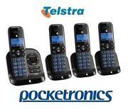Cordless Phone 4 Handsets