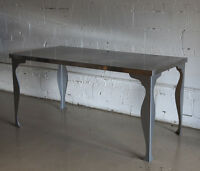 MOVING SALE! Dining Table - Metal - Stainless Steel - Modern