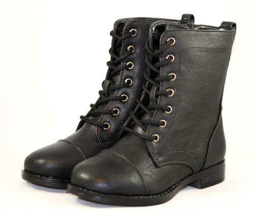 Kids Lace Up Boots | eBay