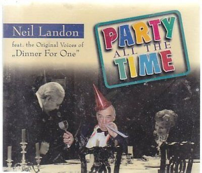 Landon Single (Neil Landon | Single-CD | Party all the time (2001, feat. the orig. vocies of...)