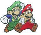 Super Mario Brothers Iron On