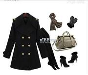 Womens Long Coat Wool