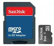 8GB Micro SD Card for HTC