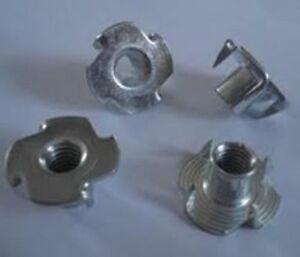 T-Nuts Bolts Tnuts adapters Replacement for Furniture Legs Couch Sofa Feet  4