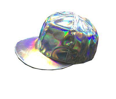 Marty Hat Cosplay Adjustable Rainbow Baseball McFly Cap Costume Halloween Access