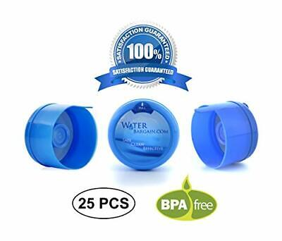 3 and 5 Gallon Water Bargain Premium Cooler Jug Non Spill BPA- Bottle caps