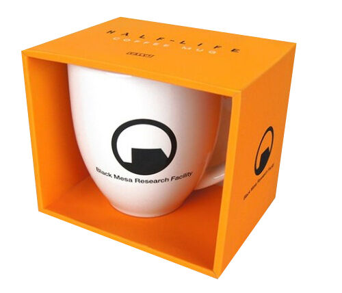 Half Life 2 Black Mesa Research Facility Oversize Mug Cup   Official [New]